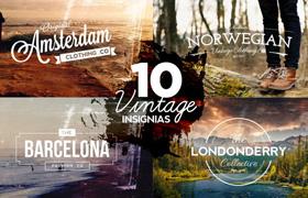 10 Insignias Vintage