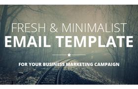 Plantilla de Email Multifunción