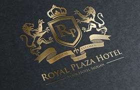 Logotipo Hotel Royal