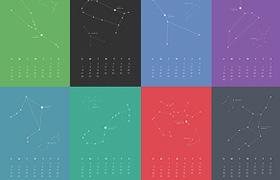 Calendario Zodiaco 2015