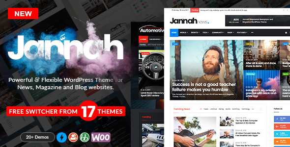 WordPress Theme - Jannah