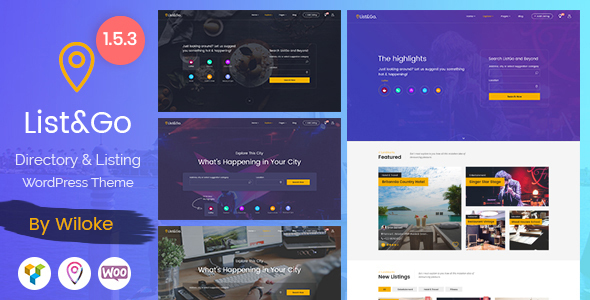 WordPress Theme ListGo
