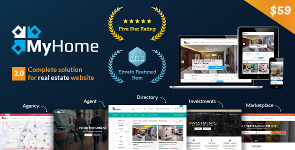 WordPress Theme MyHome