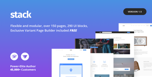WordPress Theme - Stack